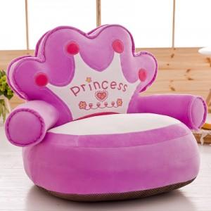 Детское кресло арт.ДМК01,цвет:Фиолетовая Корона