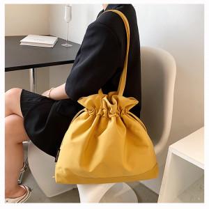 Комплект сумок из 4 предметов,арт А477 цвет: коричневый глянцевый