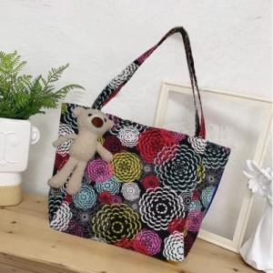Набор сумок из 3 предметов арт А259 модель Узор крест черный