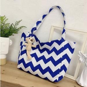 Набор сумок из 3 предметов арт А259 модель Узор крест красный