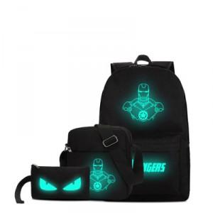 Набор рюкзак 3 в 1 арт Р172 Железный человек №2
