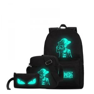 Набор рюкзак 3 в 1 арт Р172 Luffy