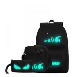 Набор рюкзак 3 в 1 арт Р172 Зеленый Avenger