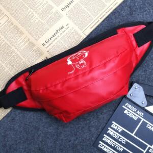 Спортивная сумка арт СС4,красный музыкальный малыш