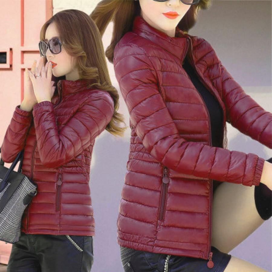 Куртка женская арт КЖ192, цвет:вино