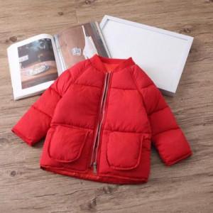 Куртка детская арт КД093, цвет:красный