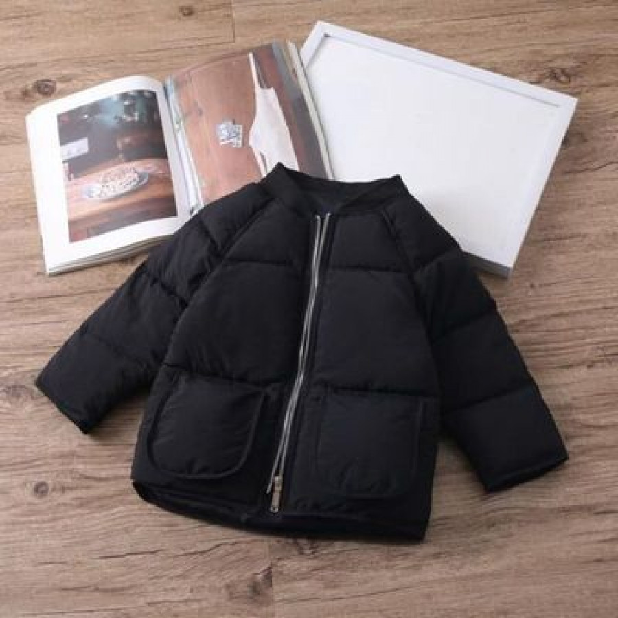 Куртка детская арт КД093, цвет:черный