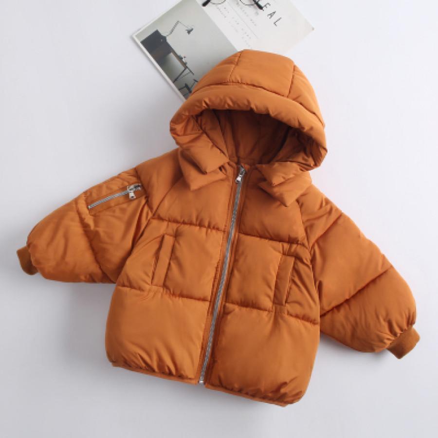 Куртка детская арт КД094, цвет:карамельный