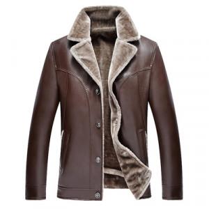 Куртка мужская арт КМ1,цвет: костюмный коричневый