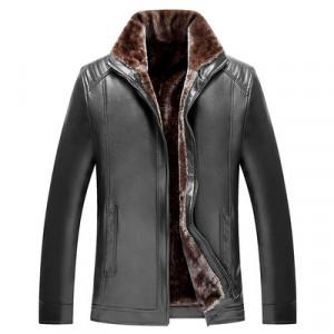 Куртка мужская арт КМ1,цвет: на молнии черный