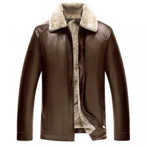 Куртка мужская арт КМ1,цвет:цельный коричневый