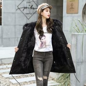 Куртка женская арт КЖ205 цвет:черный