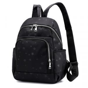 Рюкзак арт Р511, цвет:черные звезды