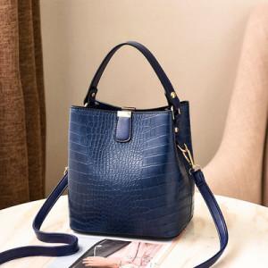 Сумка женская арт Б812, цвет:синий
