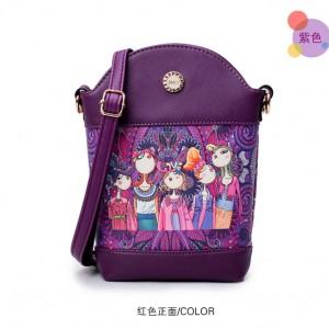 Сумка женская арт Б520,фиолетовый