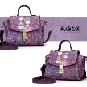 Сумка женская арт Б523, фиолетовый