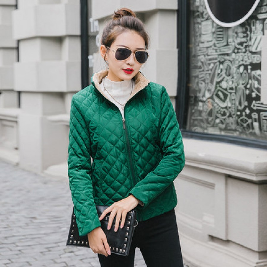 Куртка женская арт.КЖ173, цвет:зеленый изумруд