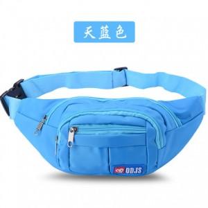 Спортивная сумка арт 8555 голубой