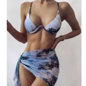 Набор дорожных сумок арт 0761 фиолетовый