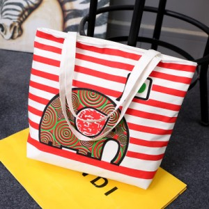 Пляжная сумка арт 0762 красный слон