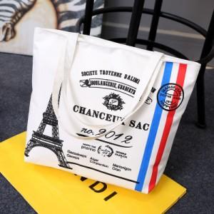 Пляжная сумка арт 0762 Эйфелева башня 2012