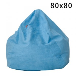 Кресло арт БК1 цвет:небесно-голубой