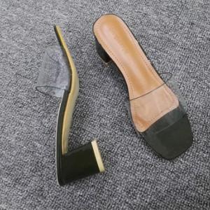 Туфли женские арт ОЖ299 цвет:зеленый широкий каблук