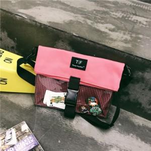 Сумка молодежная арт МК46, розовый