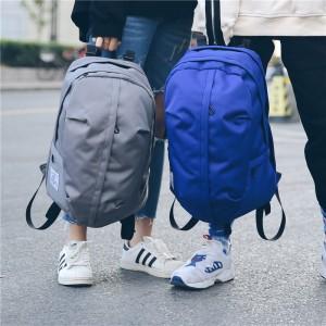 Рюкзак молодежный арт МК48, серый