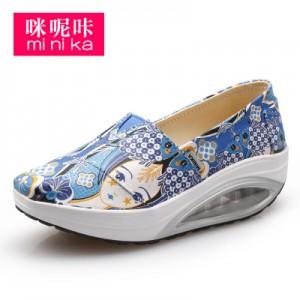 Кроссовки женские арт Ф1555-3 синий