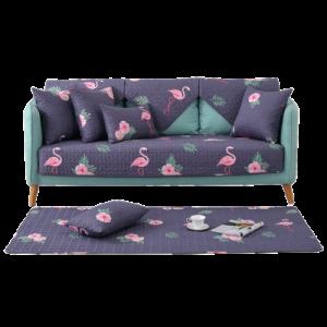 Дивандек арт ДК4, цвет:фиолетовый фламинго