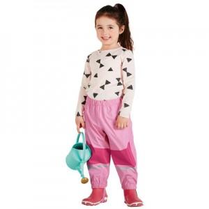 Водоотталкивающие штаны арт НК1, цвет:светло-розовый