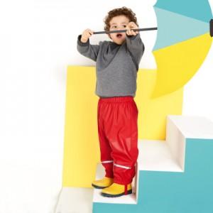 Водоотталкивающие штаны арт НК2 цвет:красный