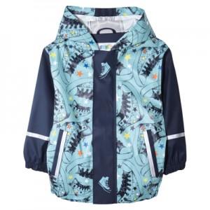 Водоотталкивающая куртка арт НК6, цвет:темно-синий