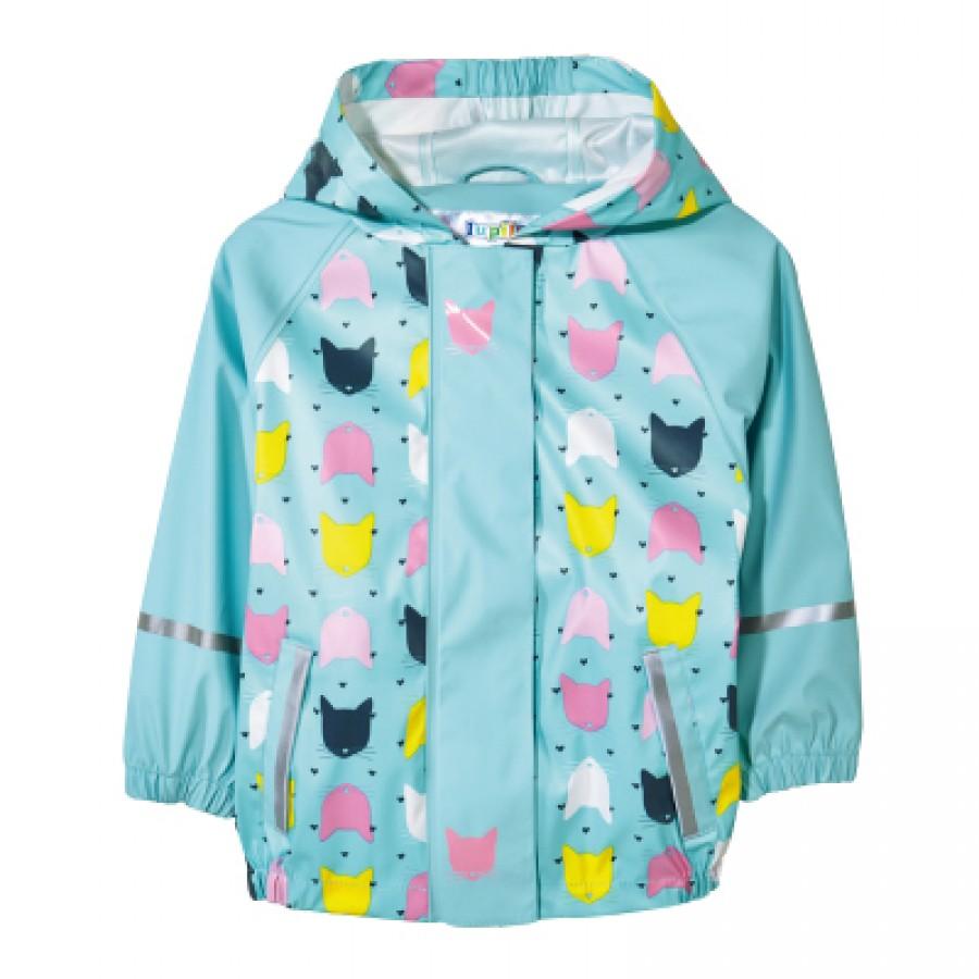 Водоотталкивающая куртка арт НК6, цвет:небесно-голубой