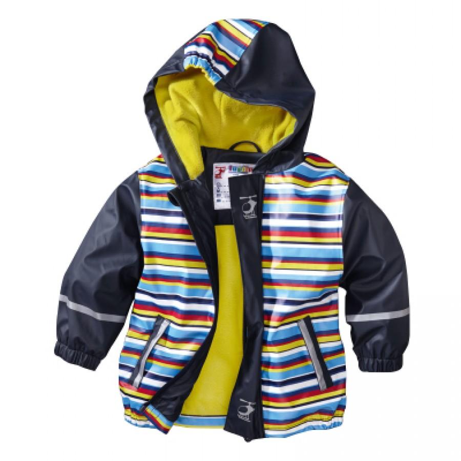 Водоотталкивающая куртка арт НК7, цвет:синяя полоска