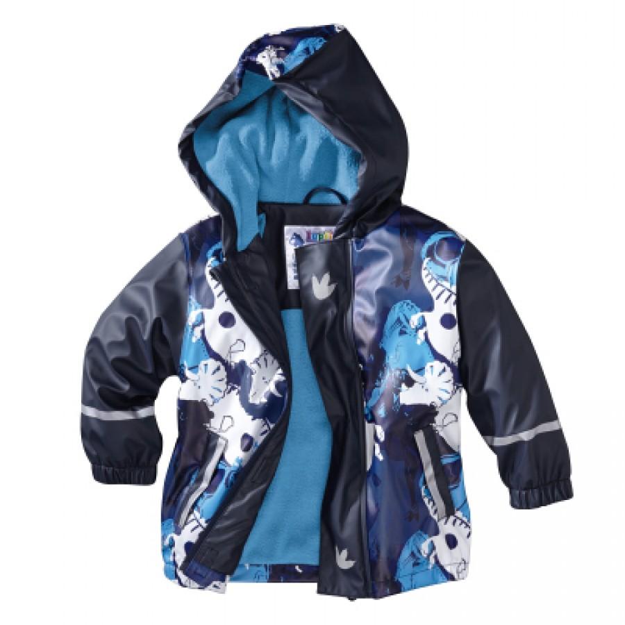 Водоотталкивающая куртка арт НК7, цвет:динозавр