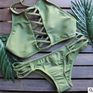 Купальник женский арт ВС14 зеленый